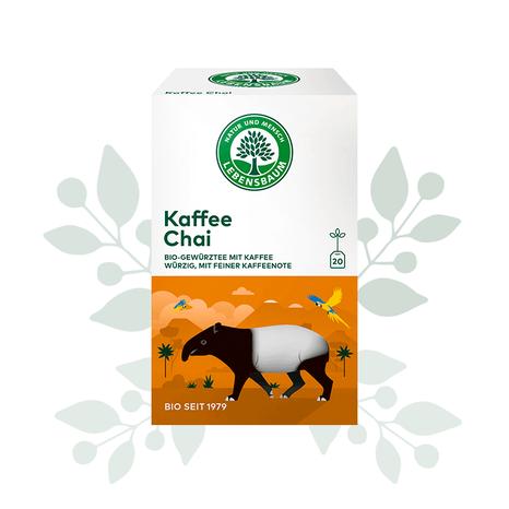 Koreninový čaj s kávou BIO