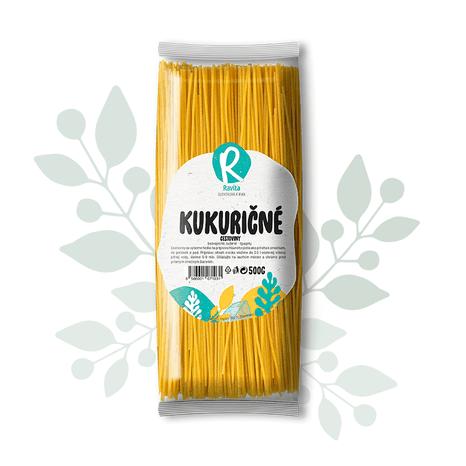 Kukuričné cestoviny – špagety